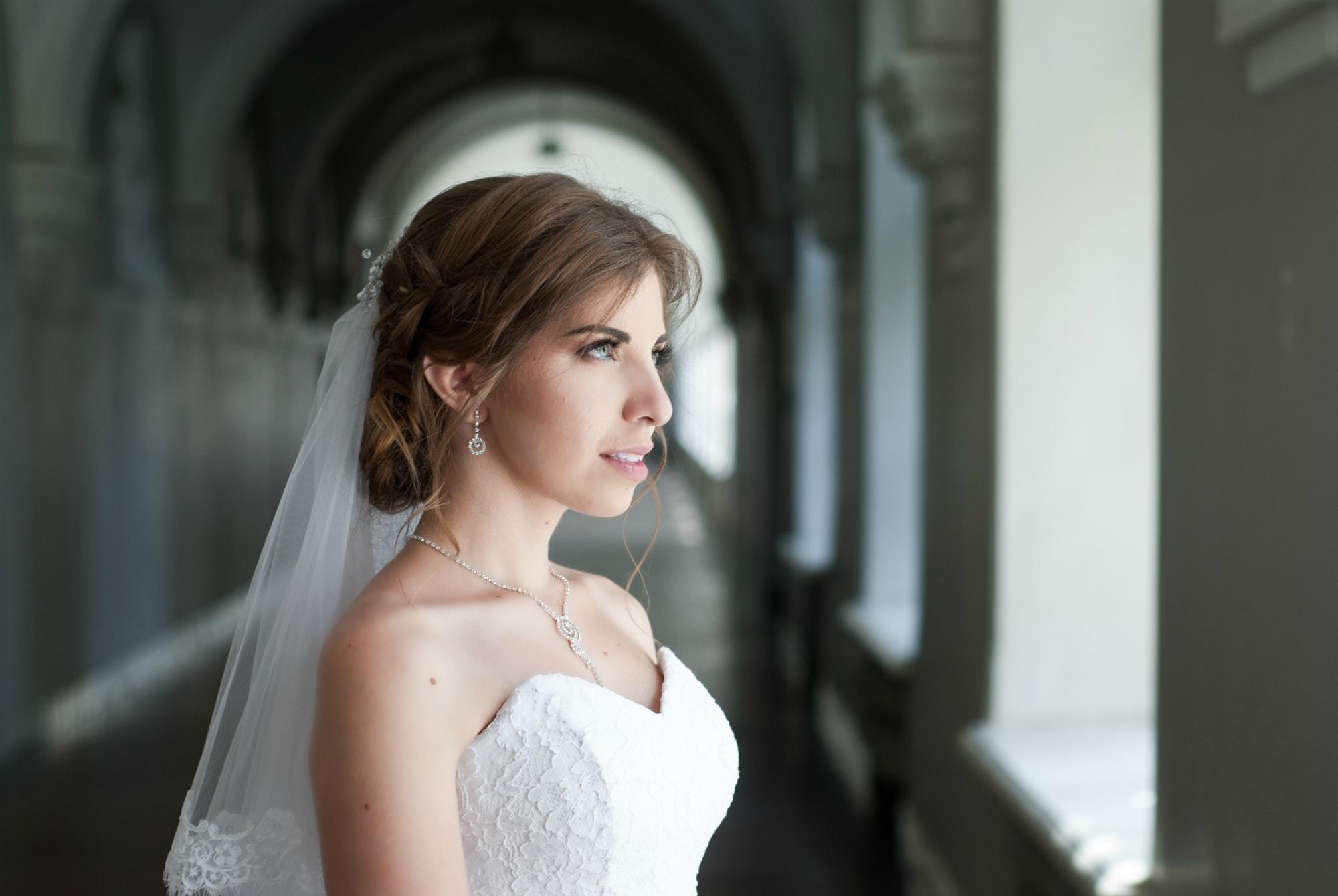 Взгляд мечтательной невесты - Фотограф Киев - Женя Лайт