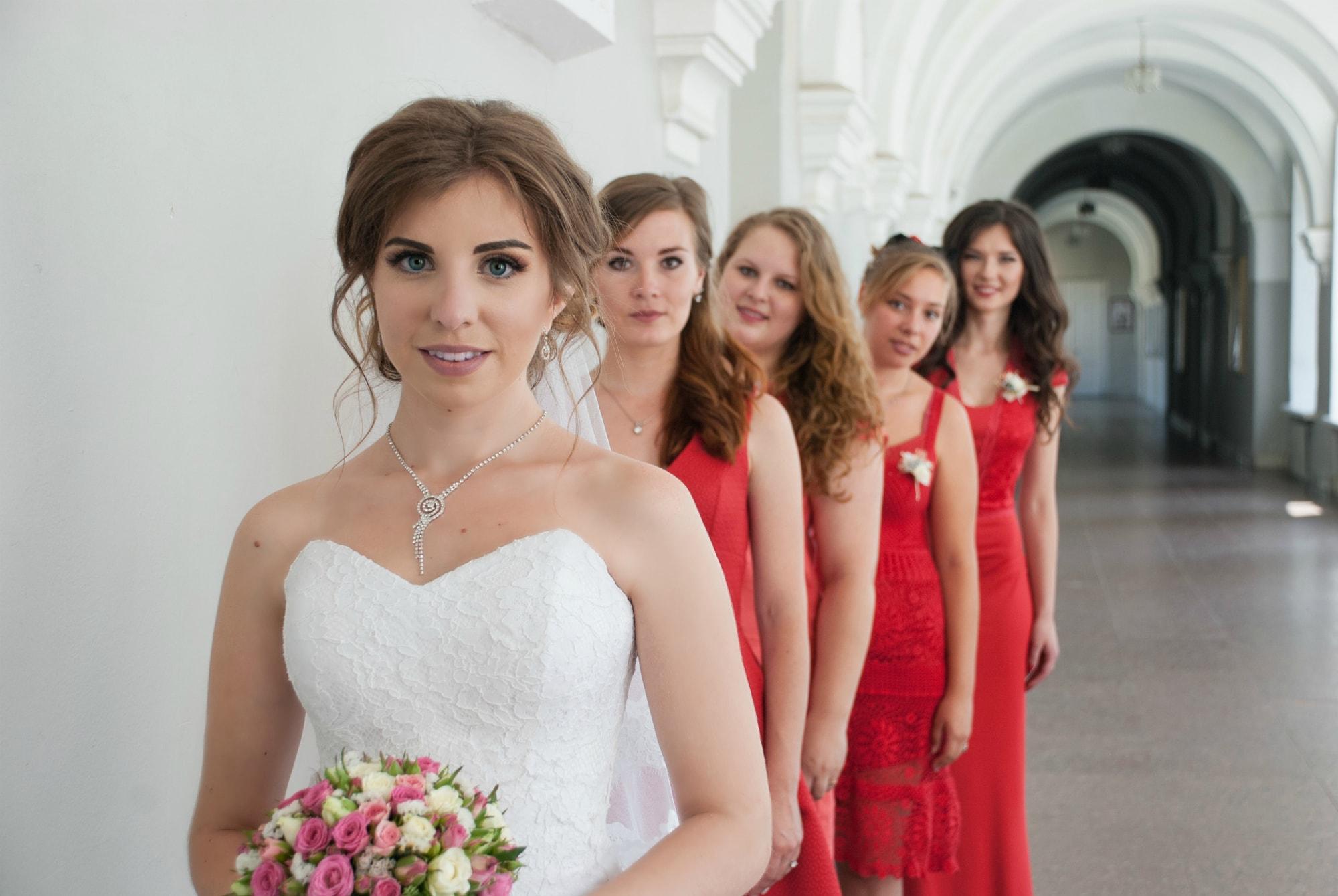 Фотосессия невесты с подружками - Фотограф Киев - Женя Лайт