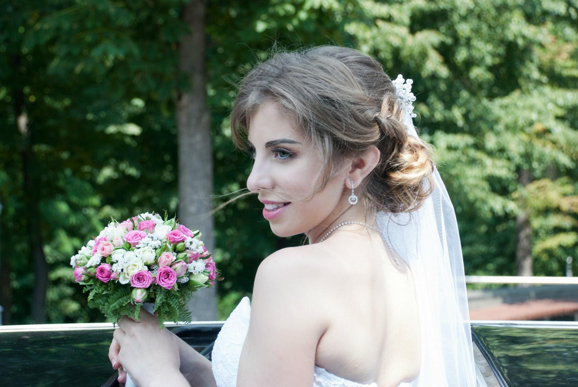 Фотография нежной невесты - Фотограф Киев - Женя Лайт