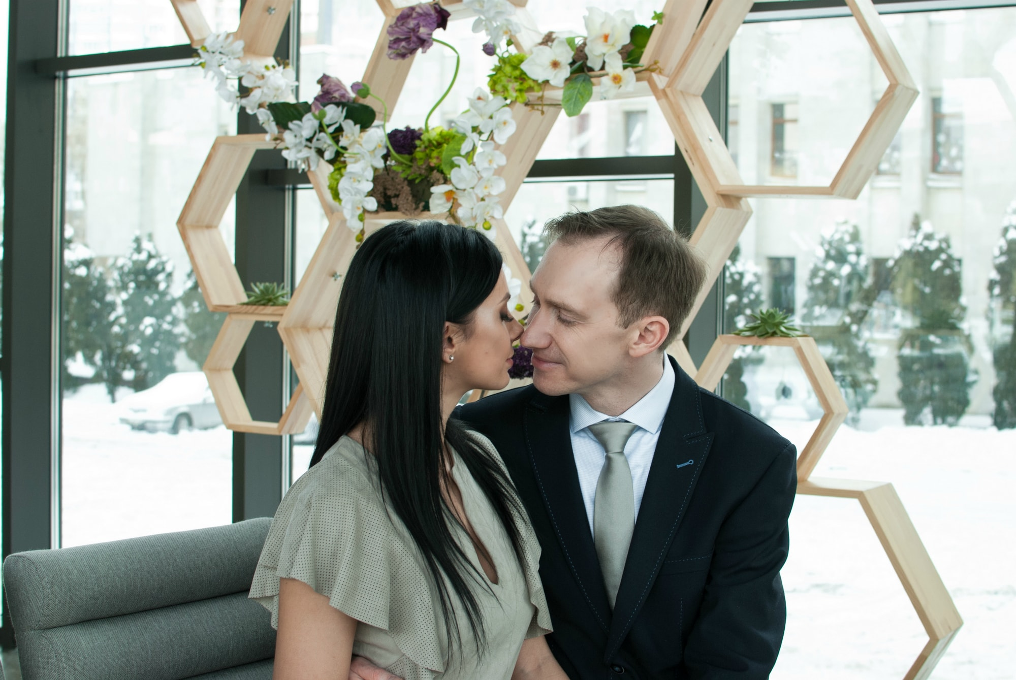 Перед поцелуем - Фотограф Киев - Женя Лайт