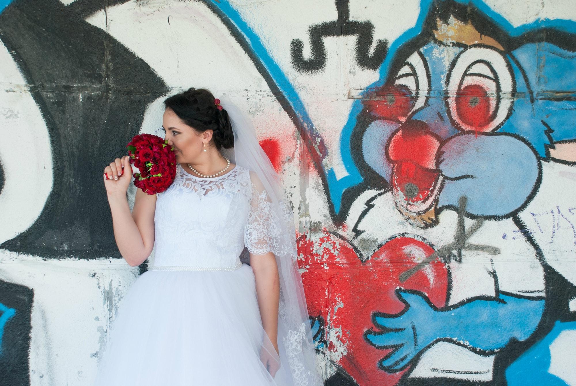 Невеста и кролик - Фотограф Киев - Женя Лайт