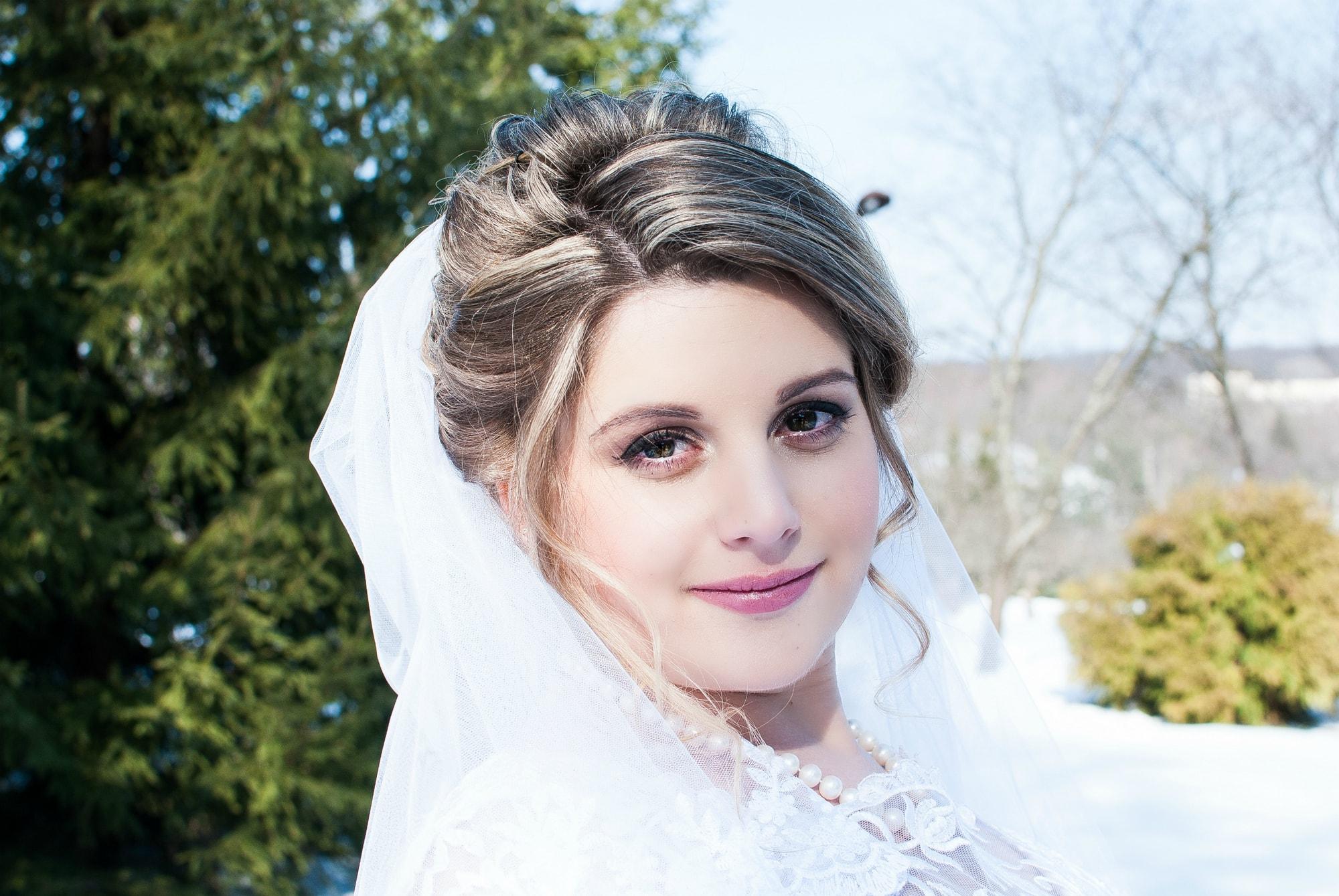 Фото миловидной невесты - Фотограф Женя Лайт