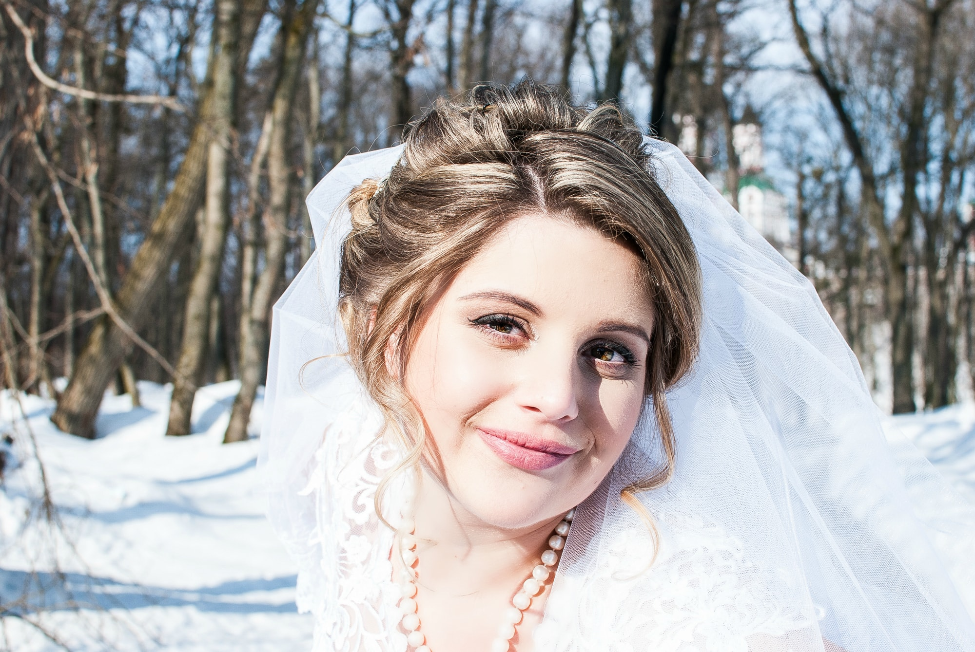 Фотография невесты в марте - Фотограф Женя Лайт