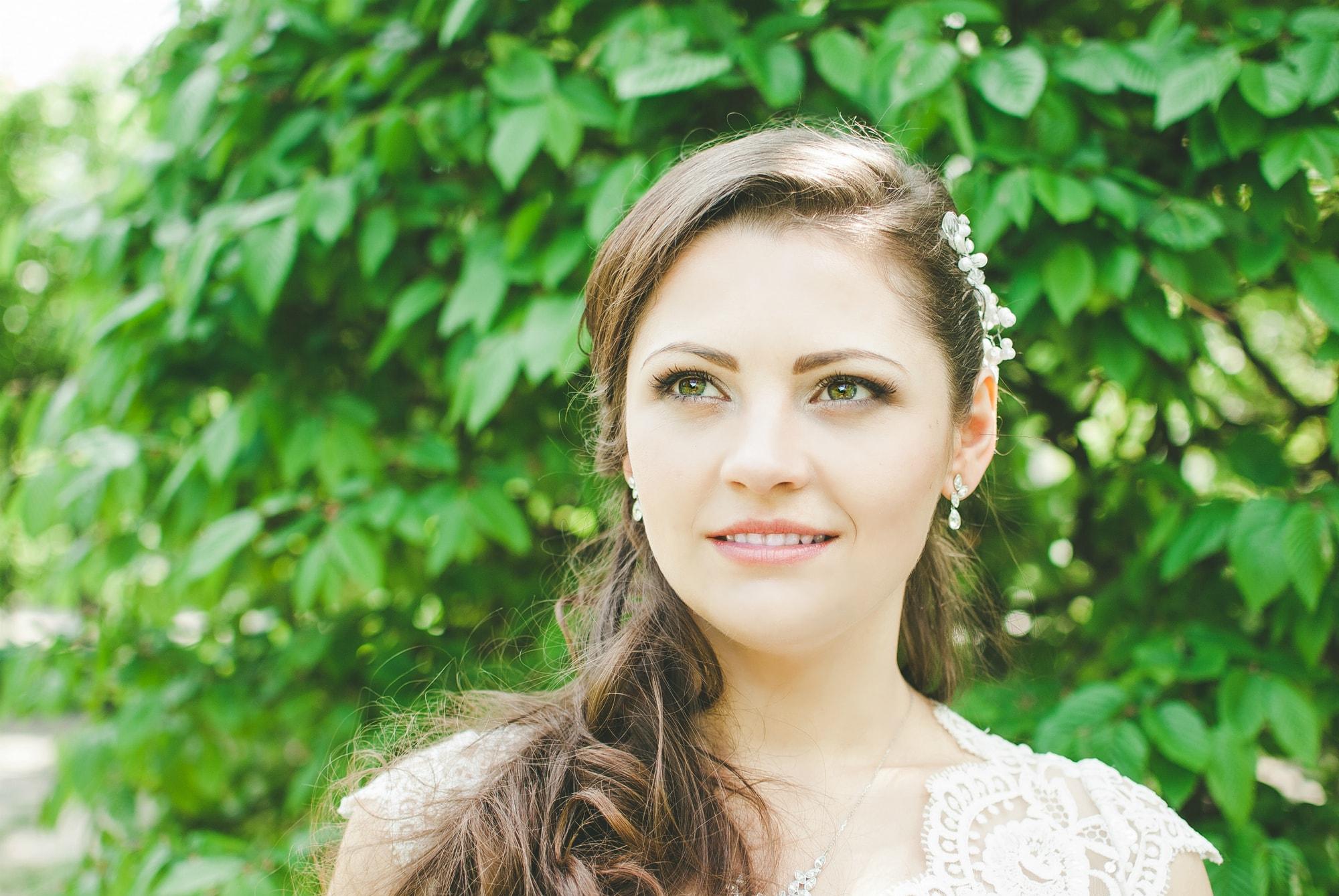 Мечтательная невеста - фотограф Женя Лайт