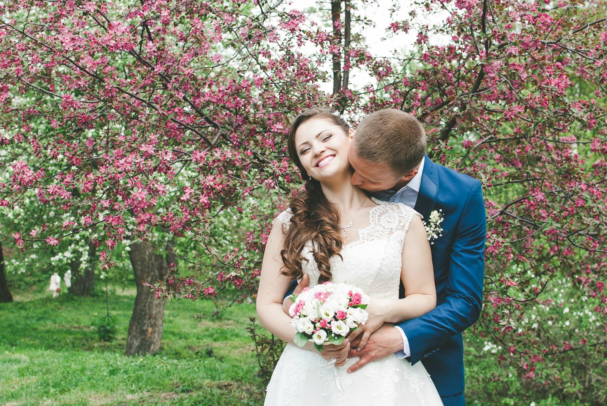 Весенний ботсад и обнимашки - фотограф Женя Лайт
