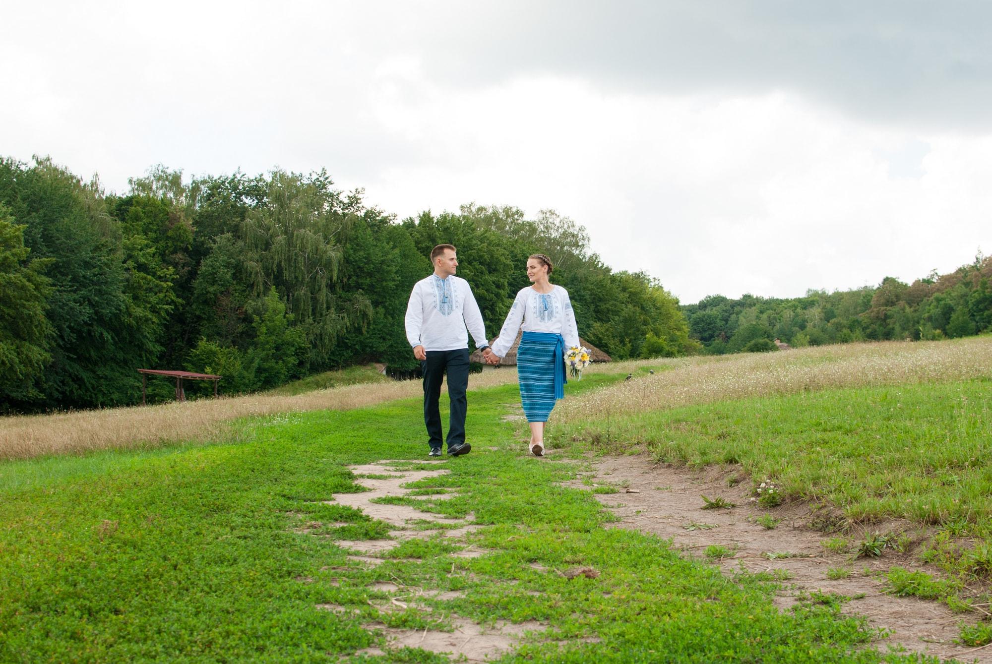 Свадебная фотопрогулка в Пирогово