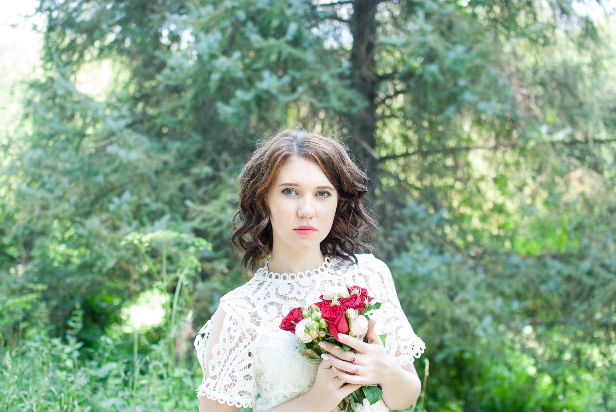 Романтическая фотосессия в Ботаническом саду