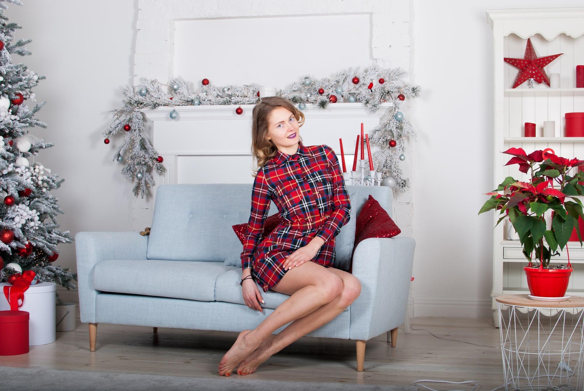 Фотосессия на диване
