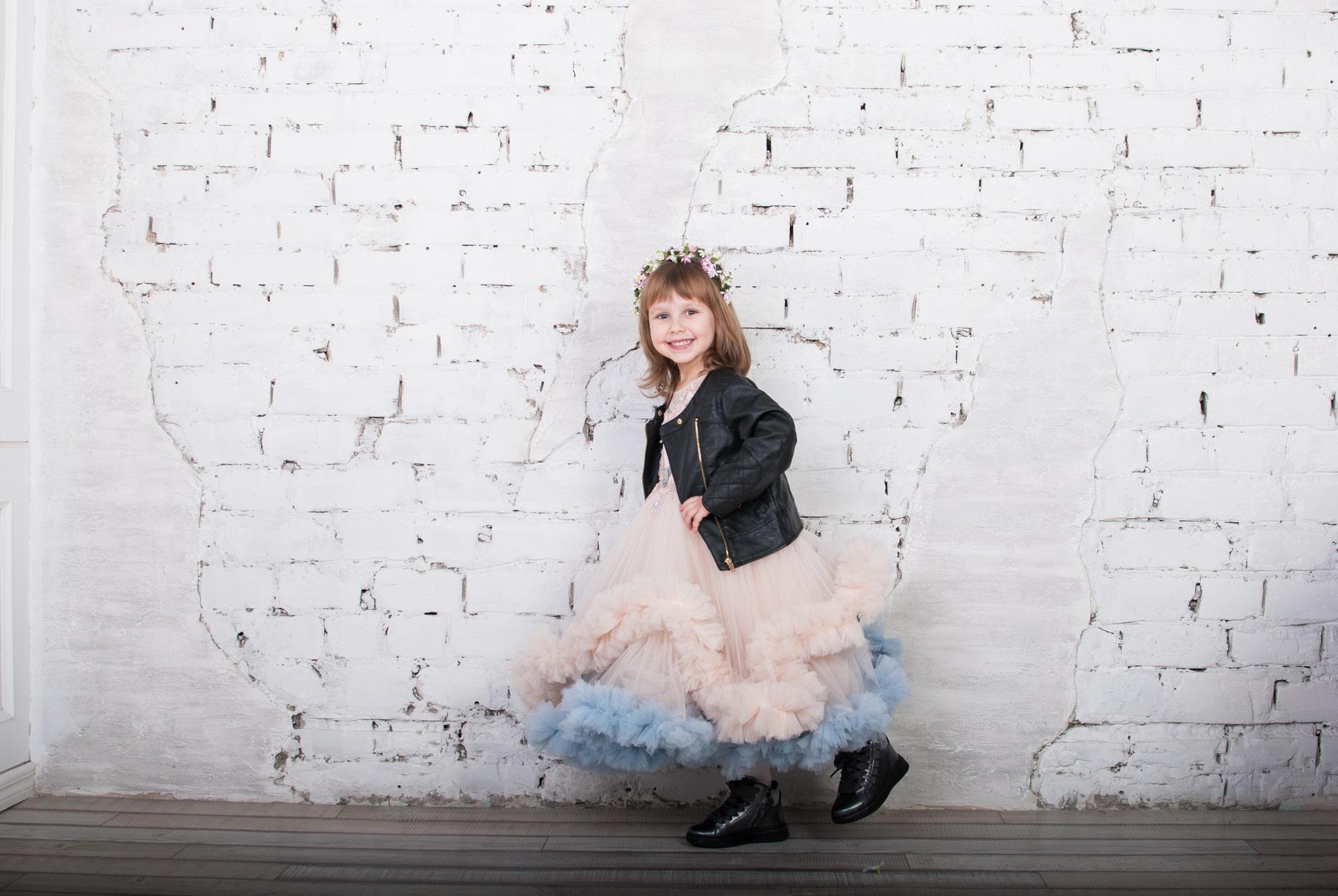 Детская фотосессия Сандры в студии Фаворе
