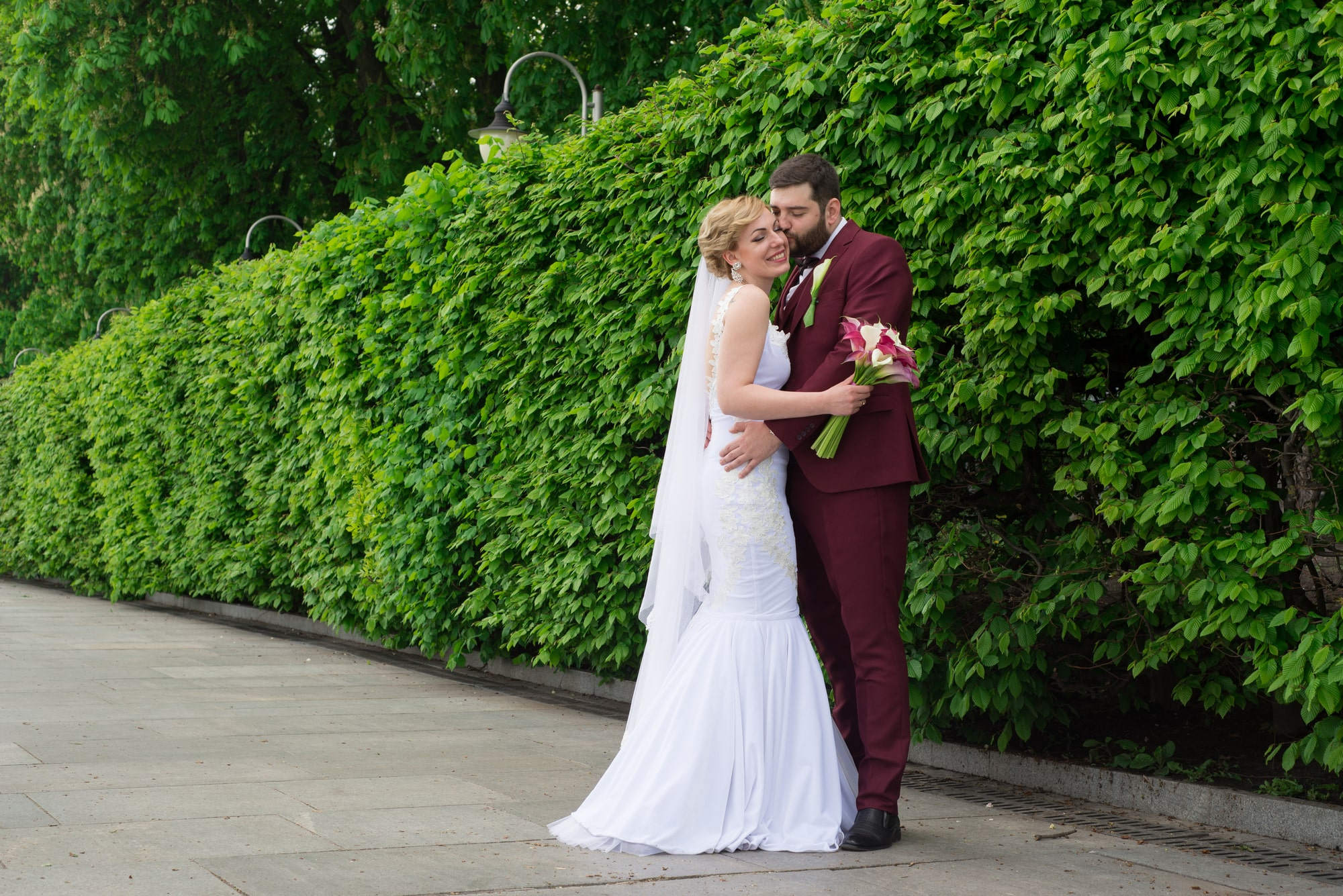 Свадебная фотосессия в парке - Фотограф Женя Лайт