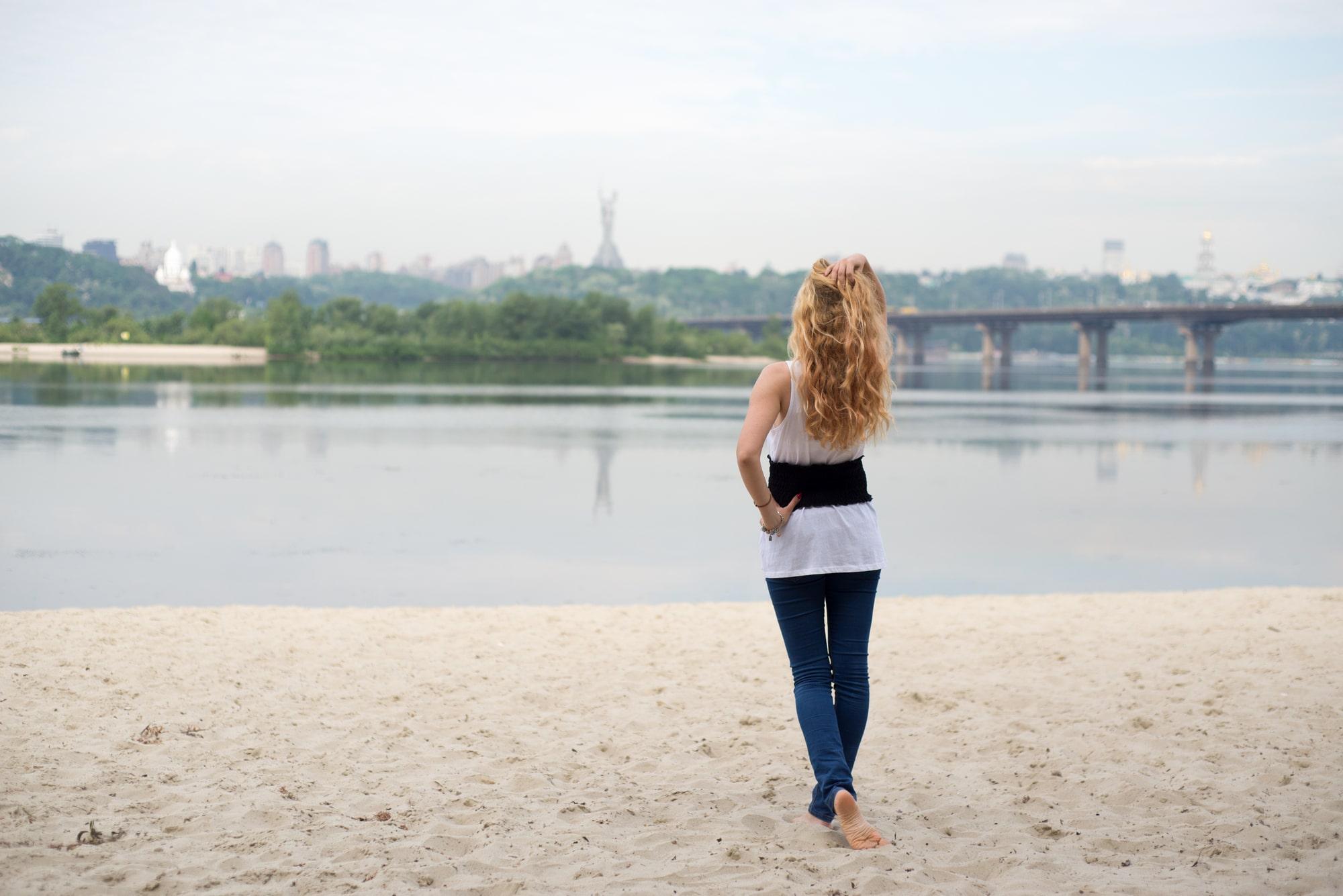 Мечты возле реки - Фотограф Женя Лайт