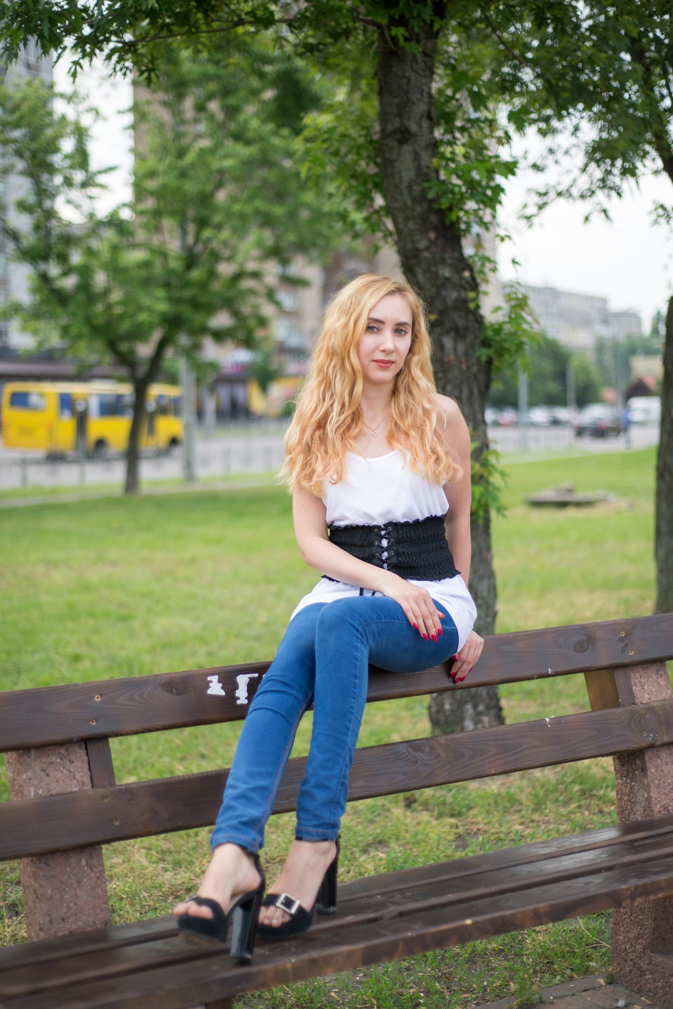 Весенняя фотосессия в парке - Фотограф Женя Лайт