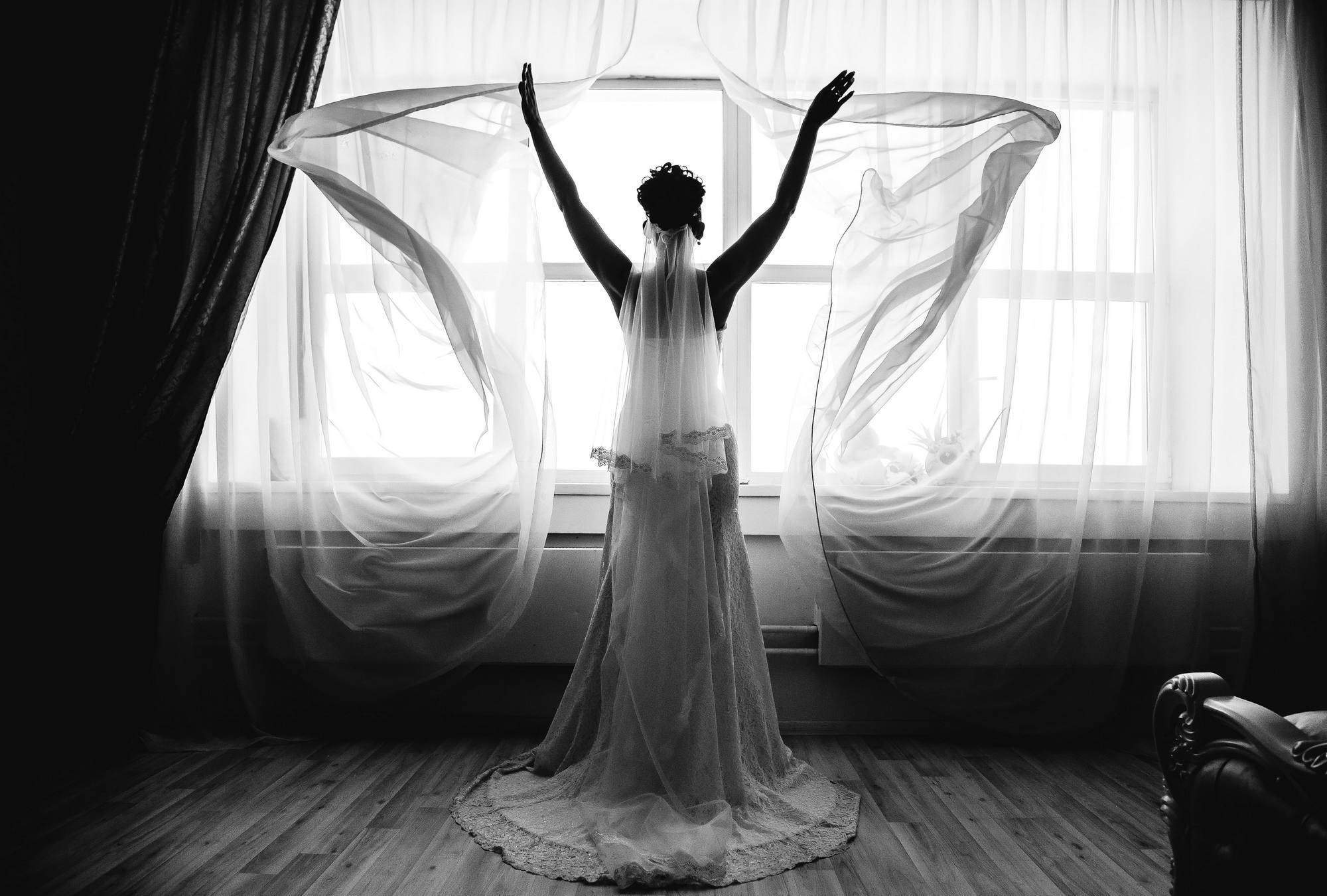 Фотосессия невесты