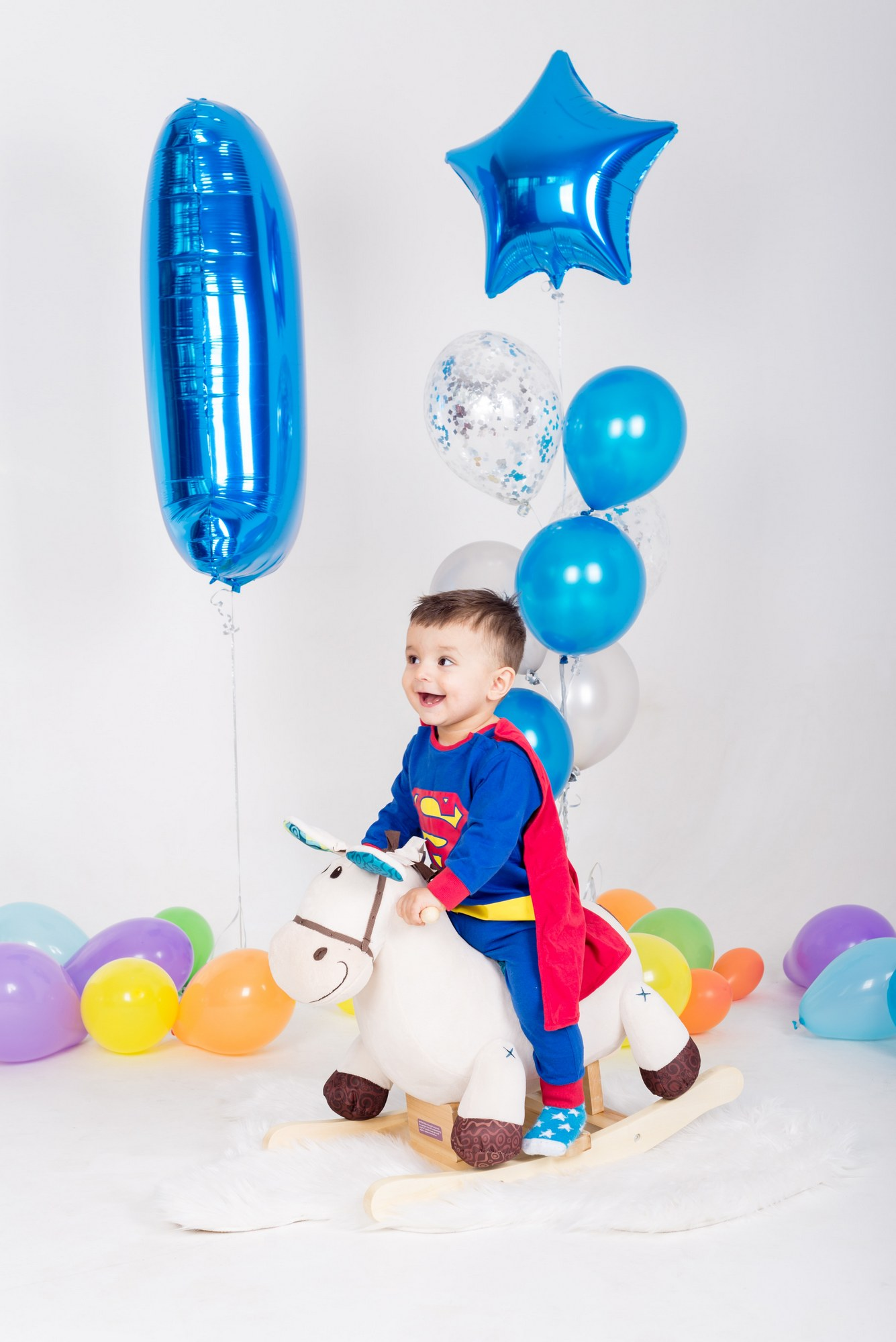 Детская фотосессия на день рождения 1 год